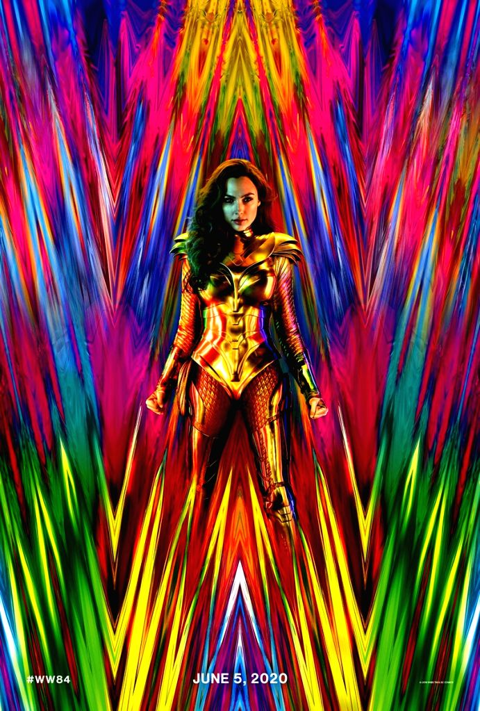 """Gal Gadot is back as Wonder Woman with a new golden armour, teasing fans about other surprises packed in """"Wonder Woman 1984""""the second instalment of the superhero film franchise."""