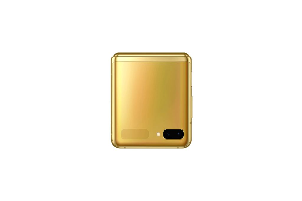Galaxy Z Flip now available in mirror gold colour in India.