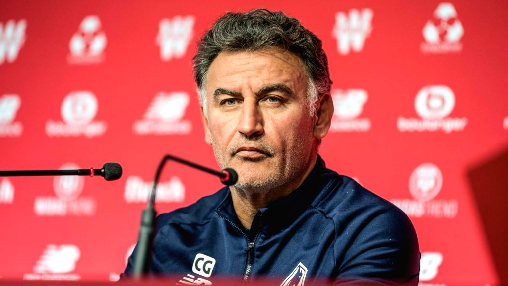 Galtier to leave Lille after leading club to shock Ligue 1 title