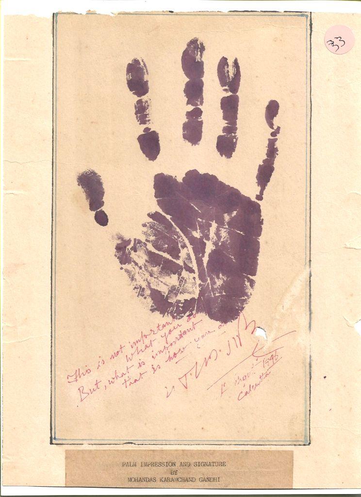 Gandhiji is in my soul: Mumbai memorabilia collector.