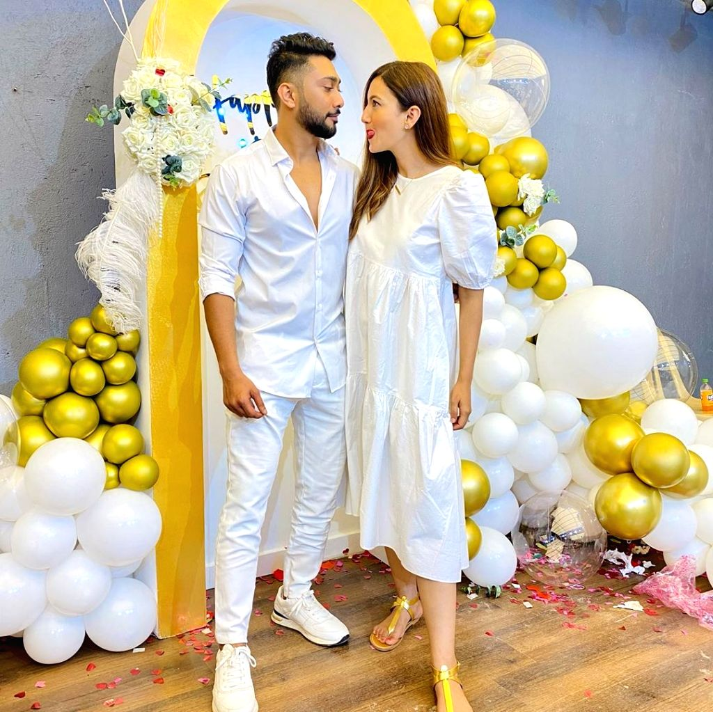 Gauahar Khan calls rumoured boyfriend Zaid Darbar 'the bestest'. - Gauahar Khan