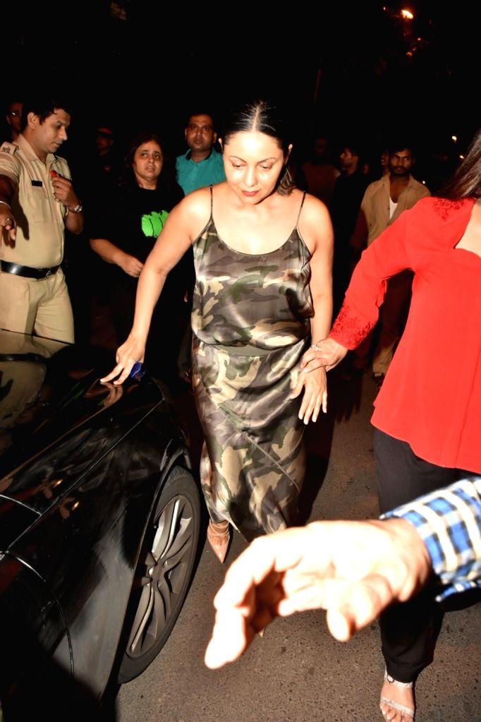 Gauri Khan, wife of actor Shah Rukh Khan seen at Bandra in Mumbai, on July 16, 2019. - Shah Rukh Khan