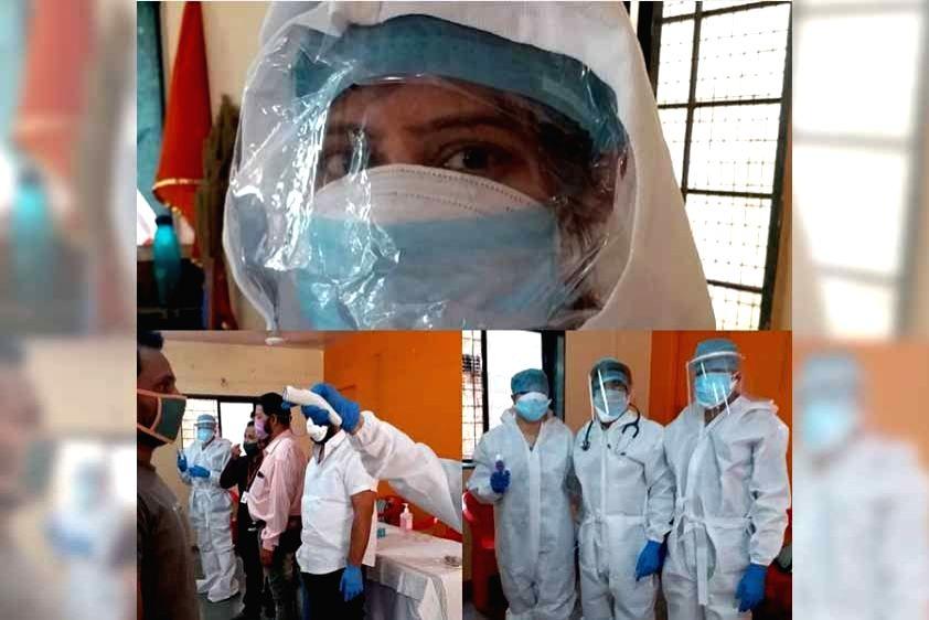 Gauri Pradhan proud of 'baby sister' fighting COVID-19 as doctor.