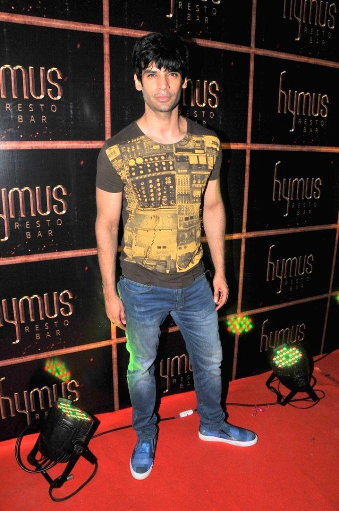 Gautam Arora during the party organised to celebrate the opening of Hymus Resto Bar in Mumbai, on August 12, 2016. - Gautam Arora