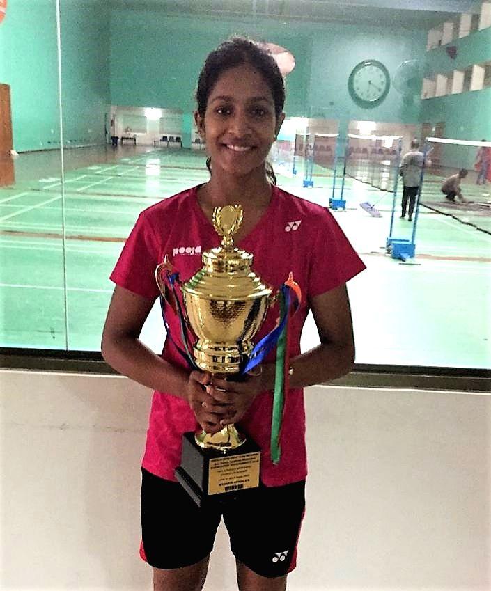 Gayatri Gopichand Pullela at All India Senior Ranking Badminton Tournament-2019