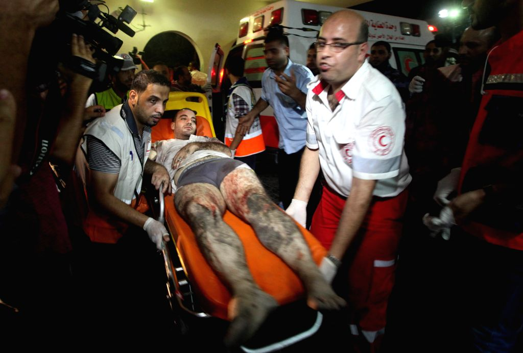 Israeli airstrike at the Nuseirat refugee camp in the