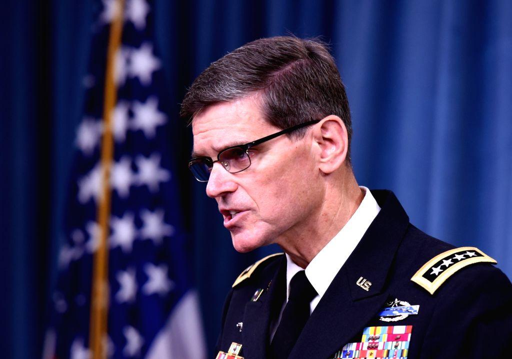 General Joseph Votel. (Xinhua/Yin Bogu/IANS)