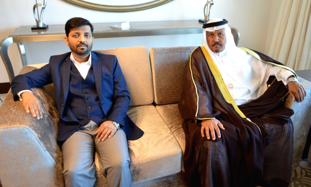Ghalia Group Chairman Zahid Hussain and Director Sami Al Refae.