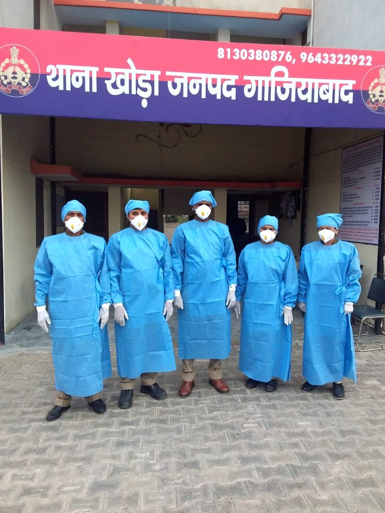 Ghaziabad police is ready to deal with any situation that may arise due to COVID-19 (Coronavirus) pandemic.