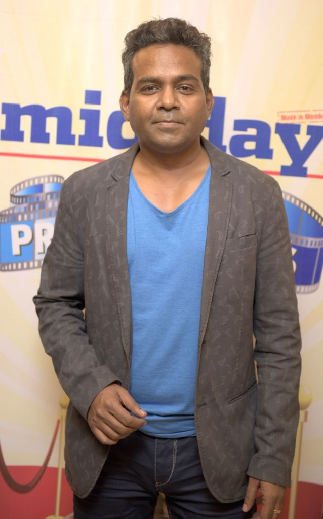 Girish Wankhede during the premiere of film Love Exchange in Mumbai on Oct 28, 2015.