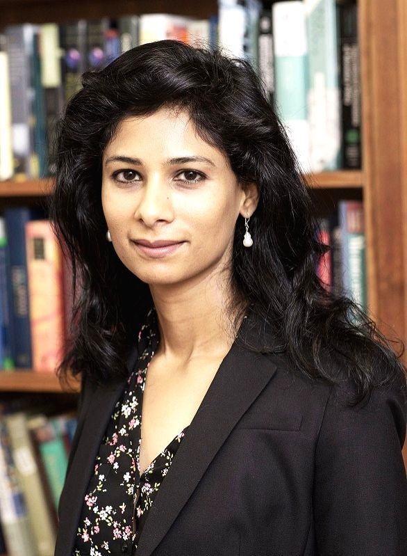Gita Gopinath is the new chief economist of the International Monetary Fund's Research Department. (Photo: Harvard University/IANS)