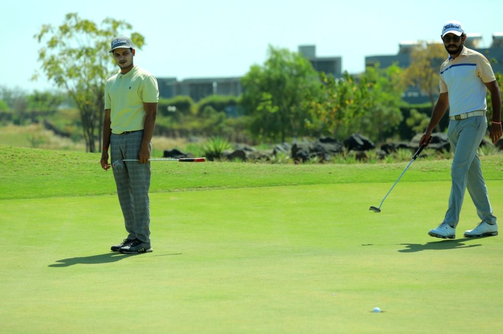 Glade One Masters golf: Chouhan, Gandas in joint lead after 3rd rd.