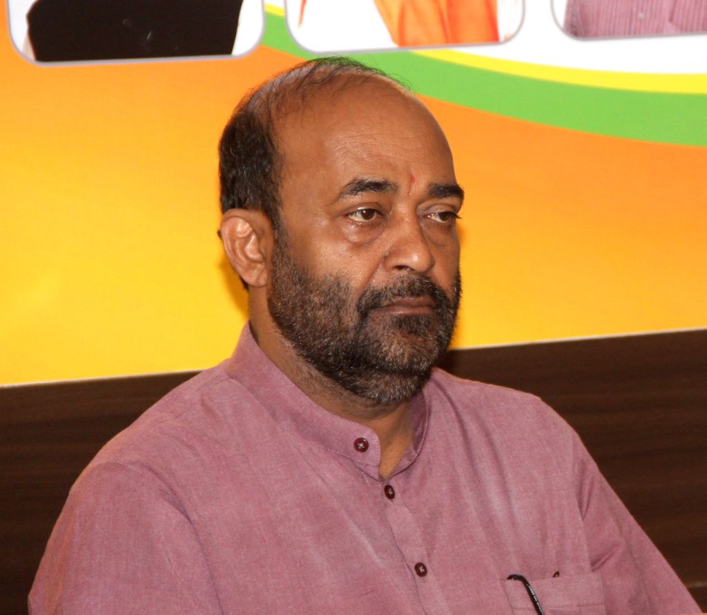 Goa BJP chief Vinay Tendulkar. (File Photo: IANS)