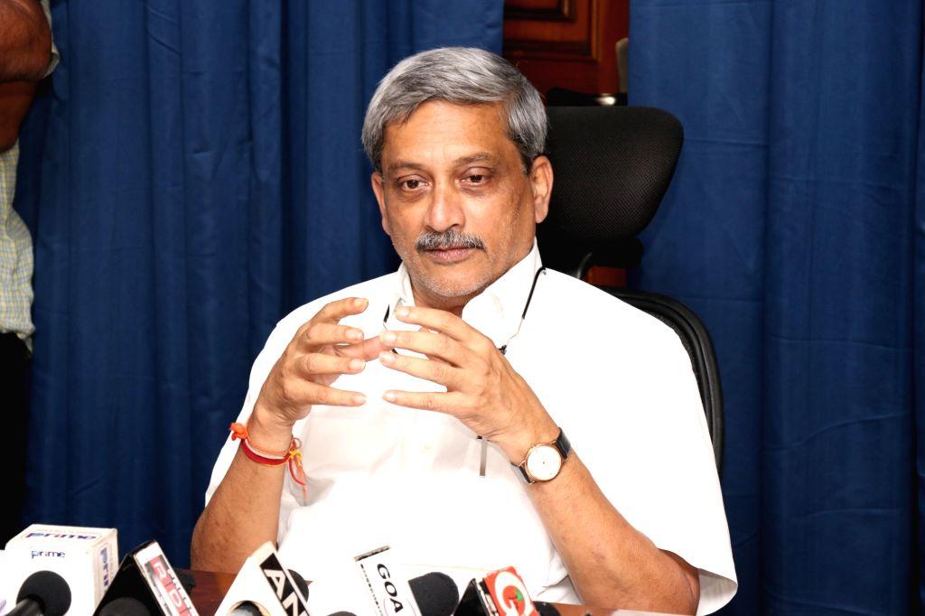 Goa Chief Minister Manohar Parrikar. (File Photo: IANS) - Manohar Parrikar