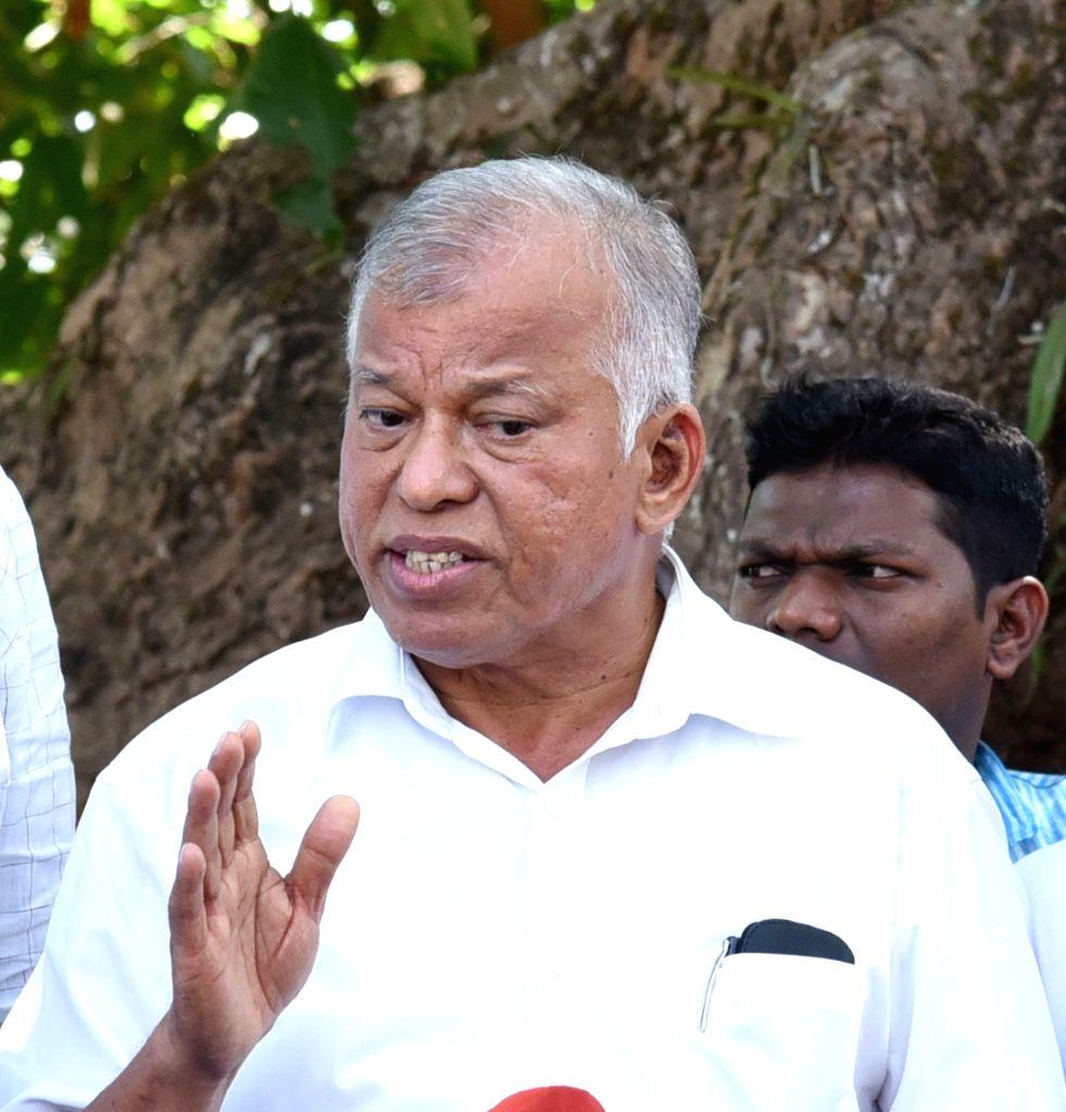 Goa Congress Chief Luizinho Faleiro. (File Photo: IANS)