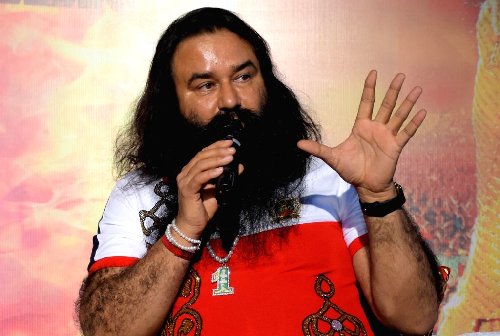 Godman-turned-actor Gurmeet Ram Rahim Singh. (File Photo: IANS) - Gurmeet Ram Rahim Singh