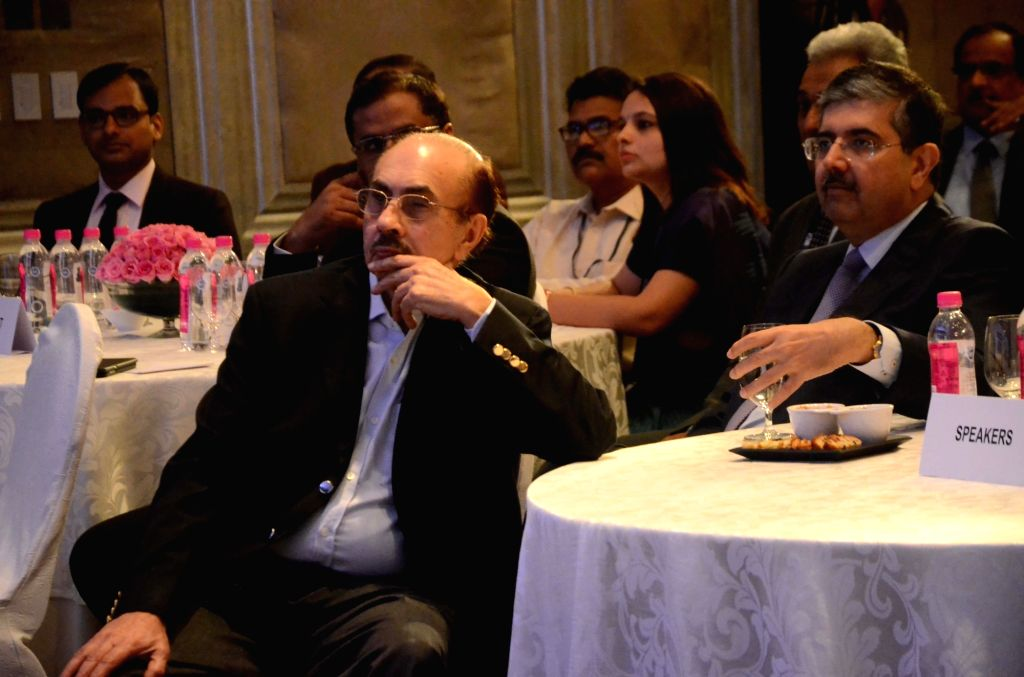 """Godrej Industries Chairman Adi Godrej during the """"National Conference on Insolvency and Bankruptcy: Changing Paradigm"""" in Mumbai on Aug 19, 2017."""
