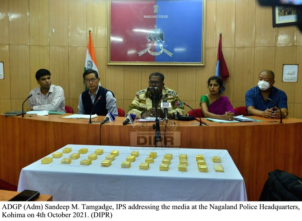 Gold, drugs worth Rs 29 cr seized in Nagaland, 9 held
