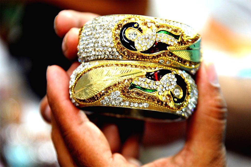 Gold ornament. (File Photo: IANS)