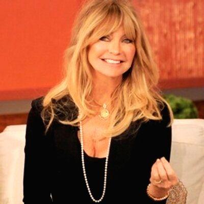 Goldie Hawn. (Photo: Twitter/@goldiehawn)