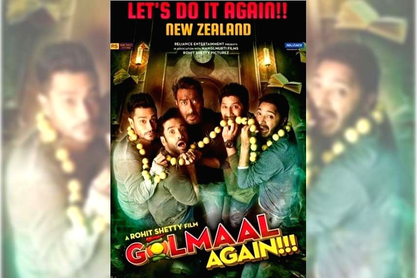 Golmaal Again' first Hindi film to release in NZ post-COVID.