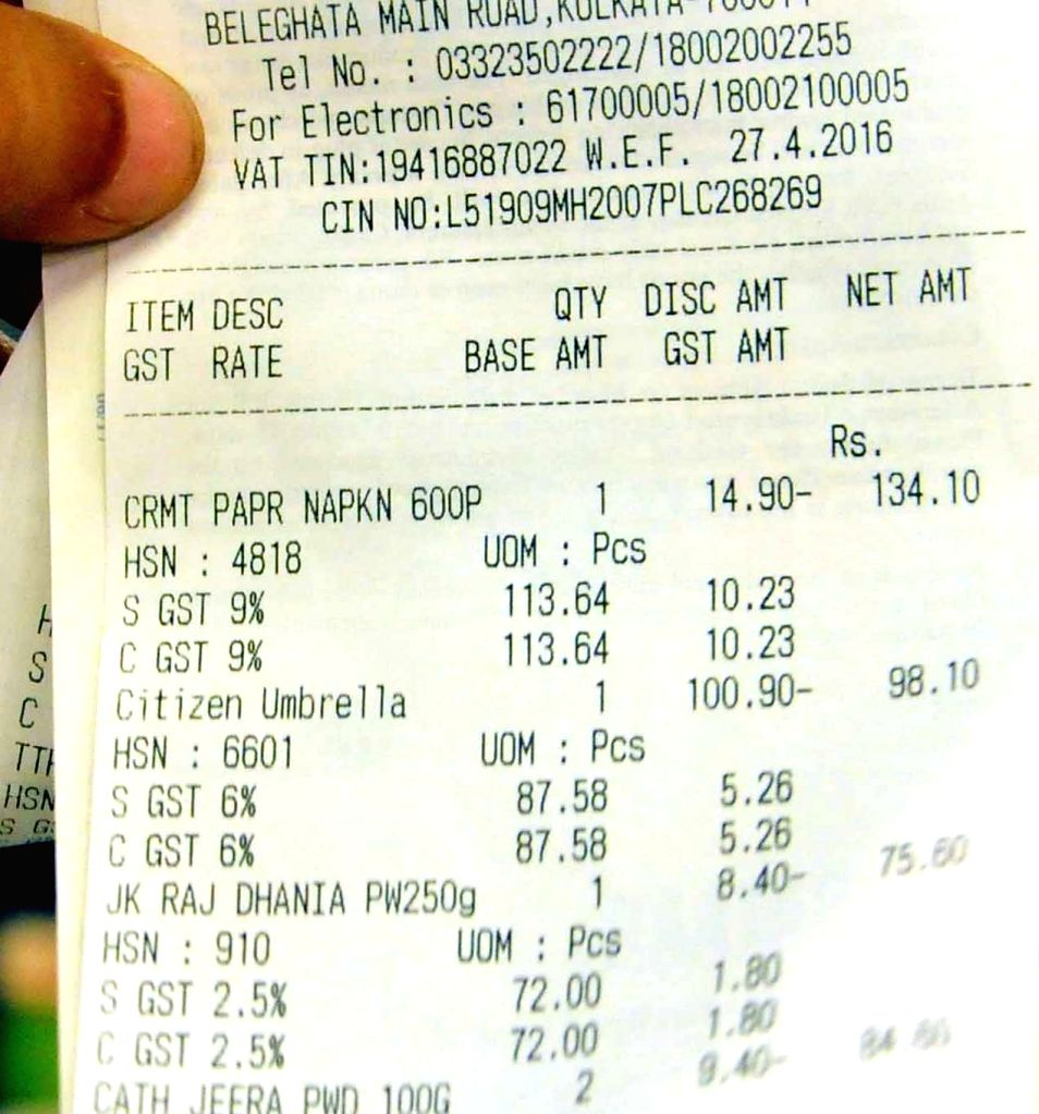 Goods and Services Tax (GST). (File Photo: IANS)