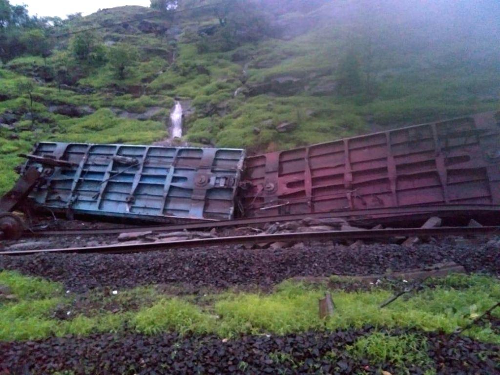 Goods train details in Maharashtra