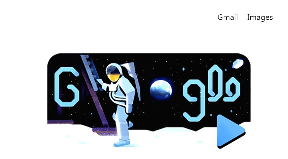 Google celebrates 'giant leap for mankind' with Doodle video