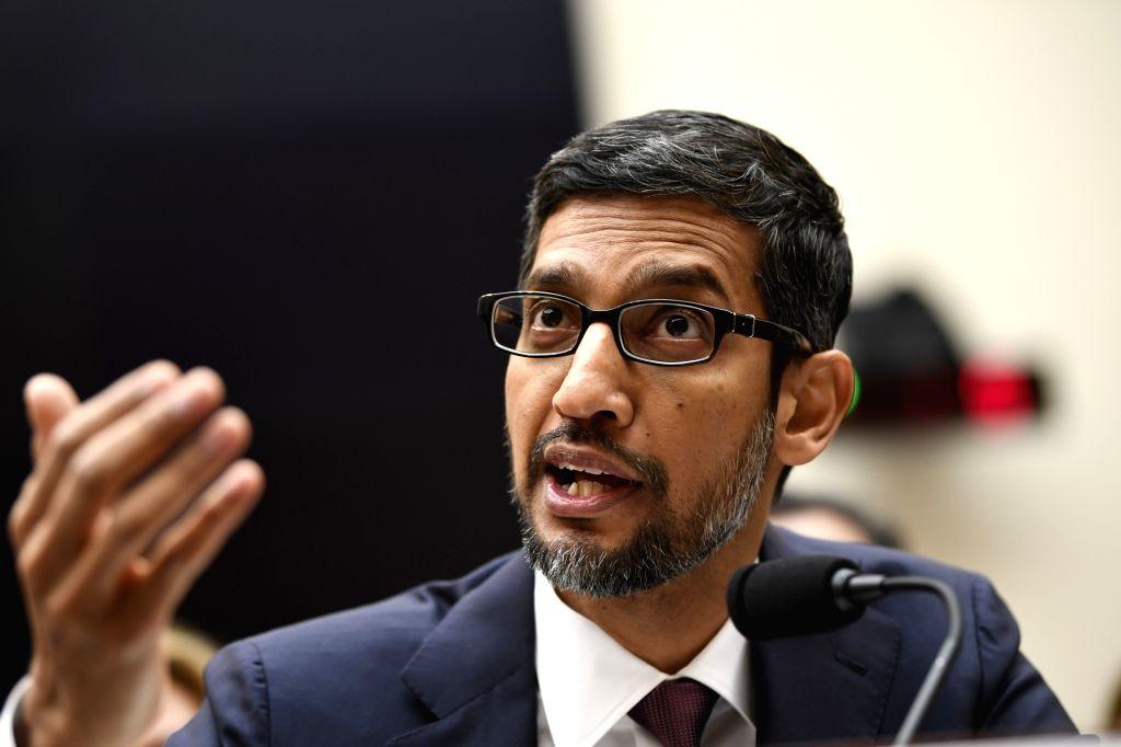 Google CEO Sundar Pichai. (Xinhua/Liu Jie/IANS)
