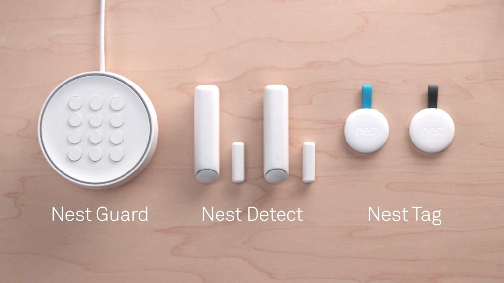 Google discontinues Nest Secure alarm system.