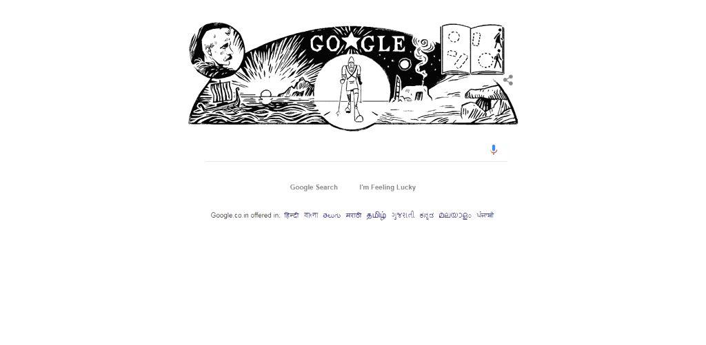 Google's Doodle on legendary Norwegian adventurer Fridtjof Nansen's birth anniversary. Born in Oslo, Norway in 1861, Nansen who explored the world's unknown terrain and broke new ground as ...