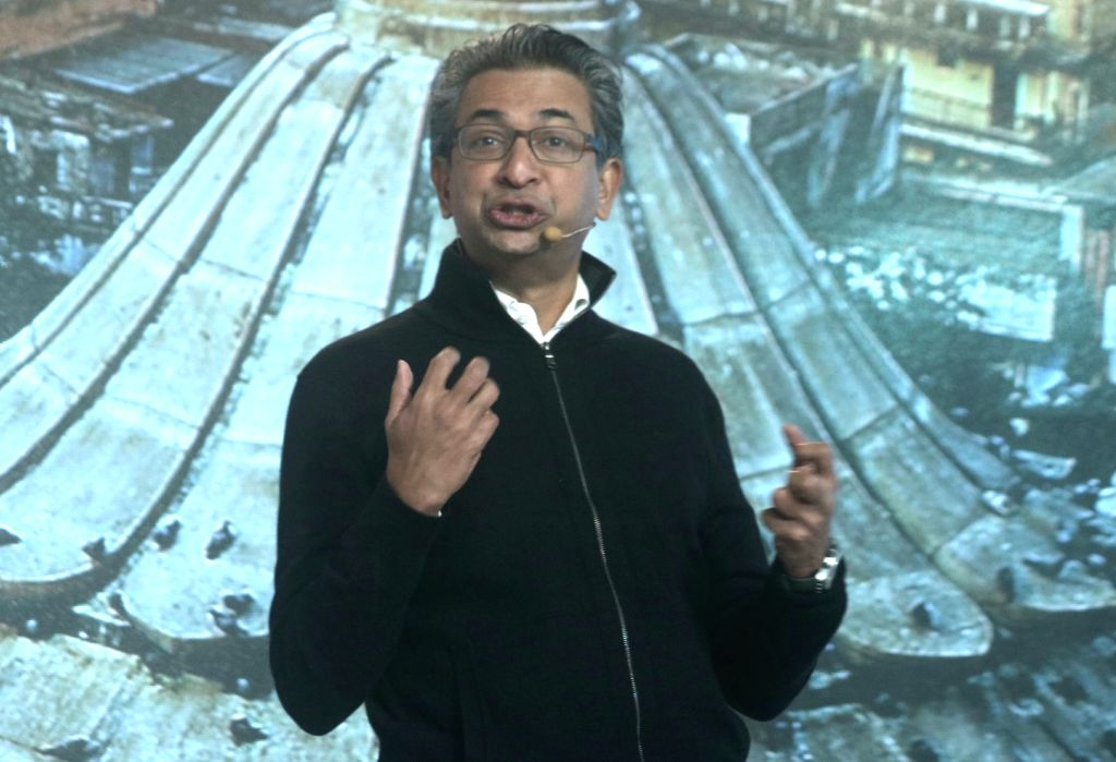 Google VP (South East Asia and India) Rajan Anandan addresses during the third edition of Google for India in New Delhi, on Dec 5, 2017.