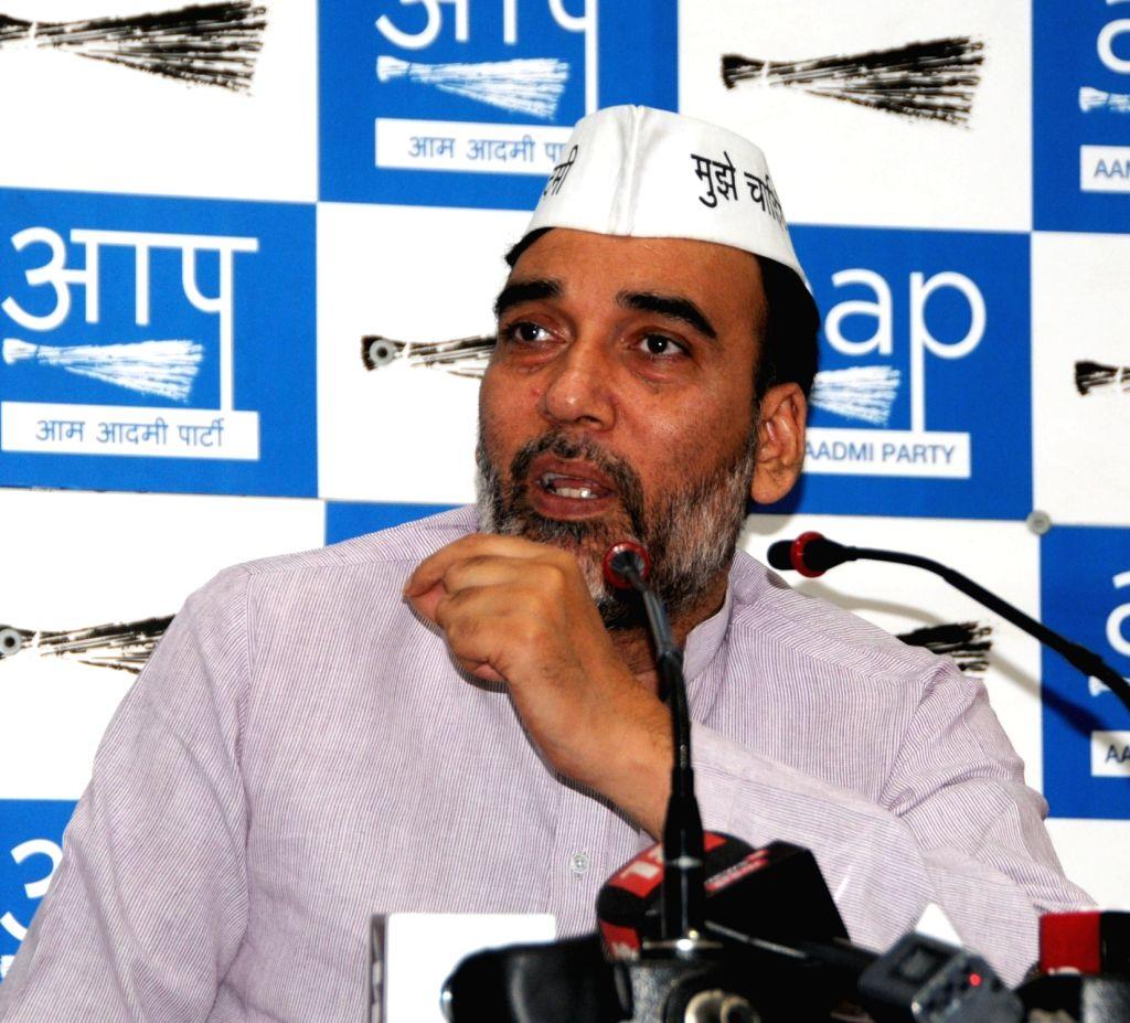 Gopal Rai. (Photo: IANS) - Gopal Rai