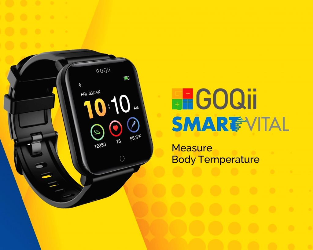 GOQii launches 'Smart Vital Watch' at Rs 5,999 in India