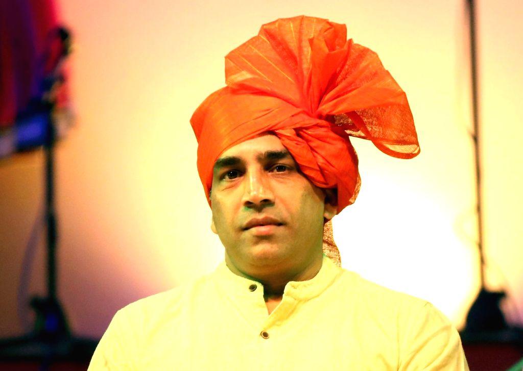 Govind Gaude. (File Photo: IANS)
