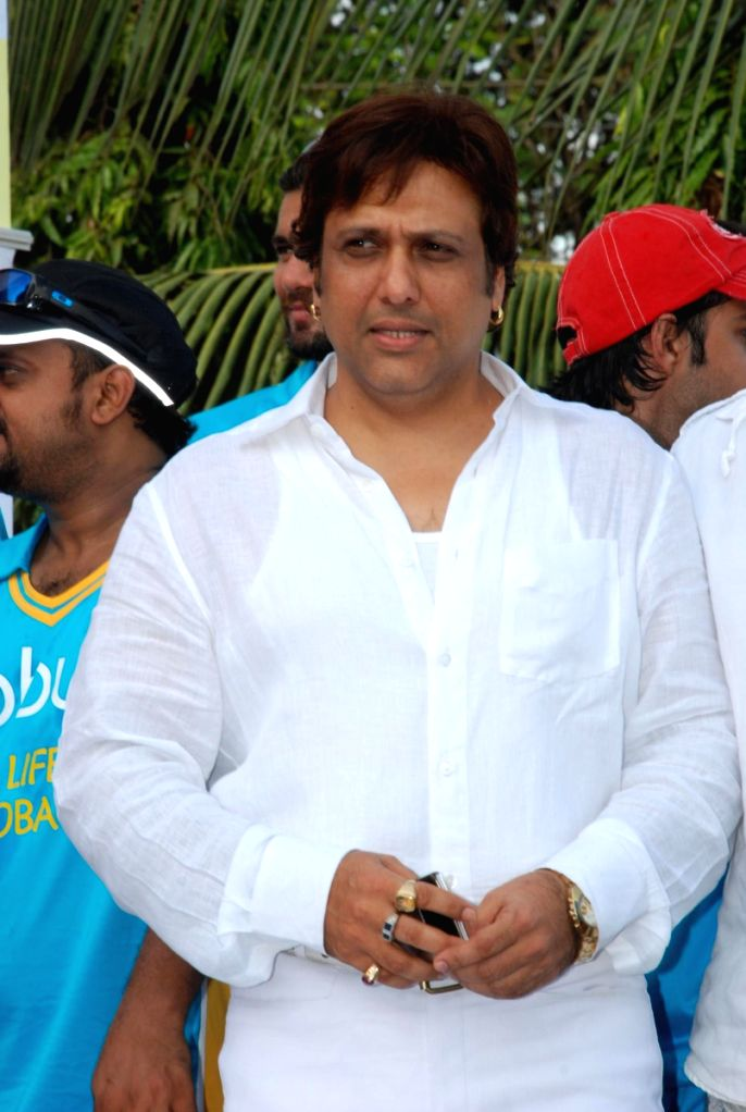 Govinda at CPAA's cricket match.