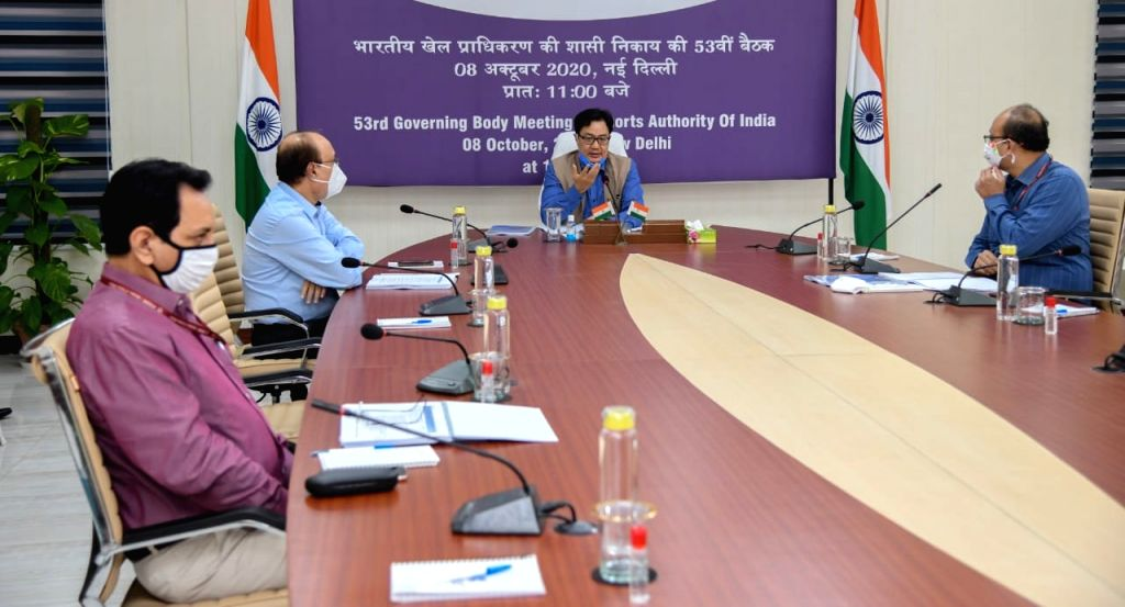 Govt committed to create world-class sports ecosystem for athletes: Rijiju.