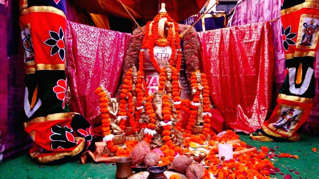 Grand Bell for Ram Mandir reached from Rameshwaram.