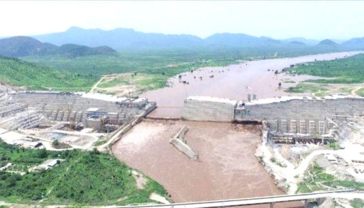 Grand Ethiopian Renaissance Dam on the Nile River.(credit: www.facebook.com/GrandEthiopianRenaissanceDam)