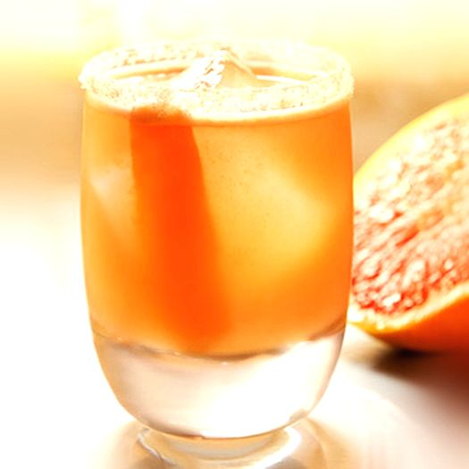 Grapefruit Caipiroska.