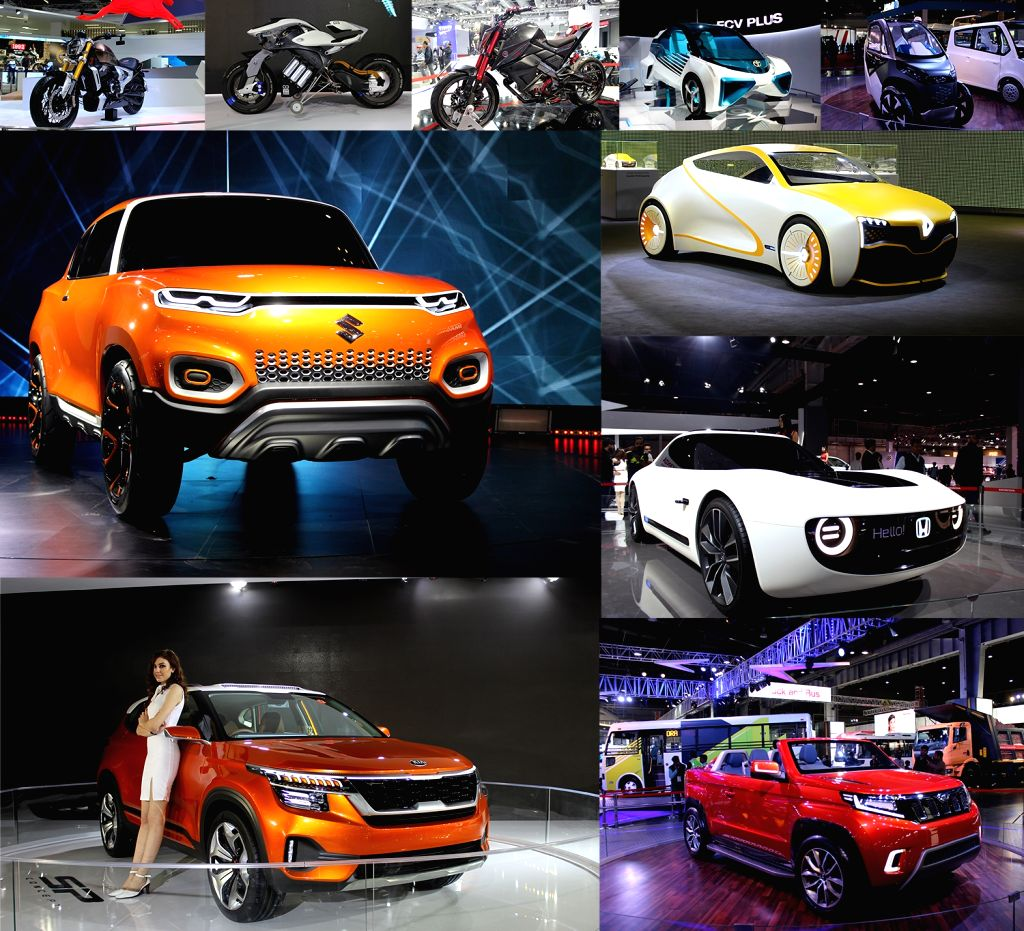 Greater Noida: Concept Cars from various manufacturers at the Auto Expo 2018 in Greater Noida on Feb 13, 2018.