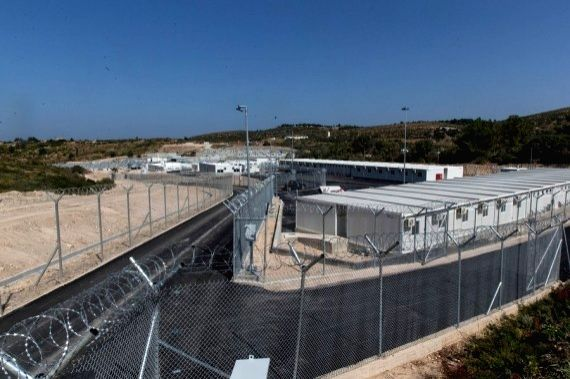 Greece launches enclosed camp for asylum seekers