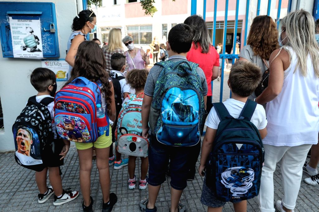 Greece to close primary schools, kindergartens after imposing lockdown