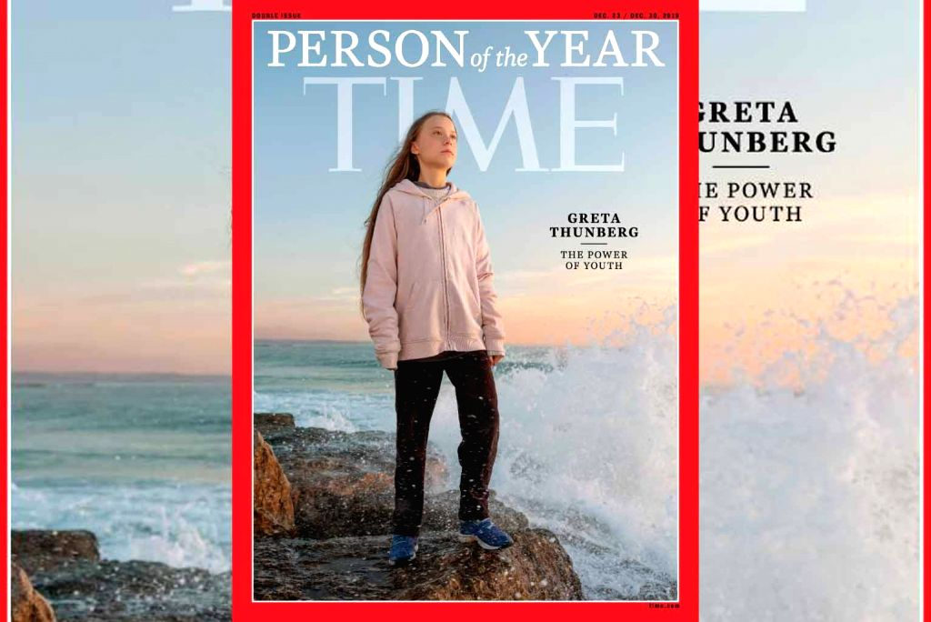 GretaThunberg is TIME's 2019 Person of the Year.