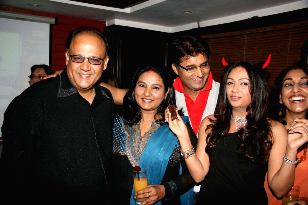 Guest at Ashita Dhawan's Birthday Bash.