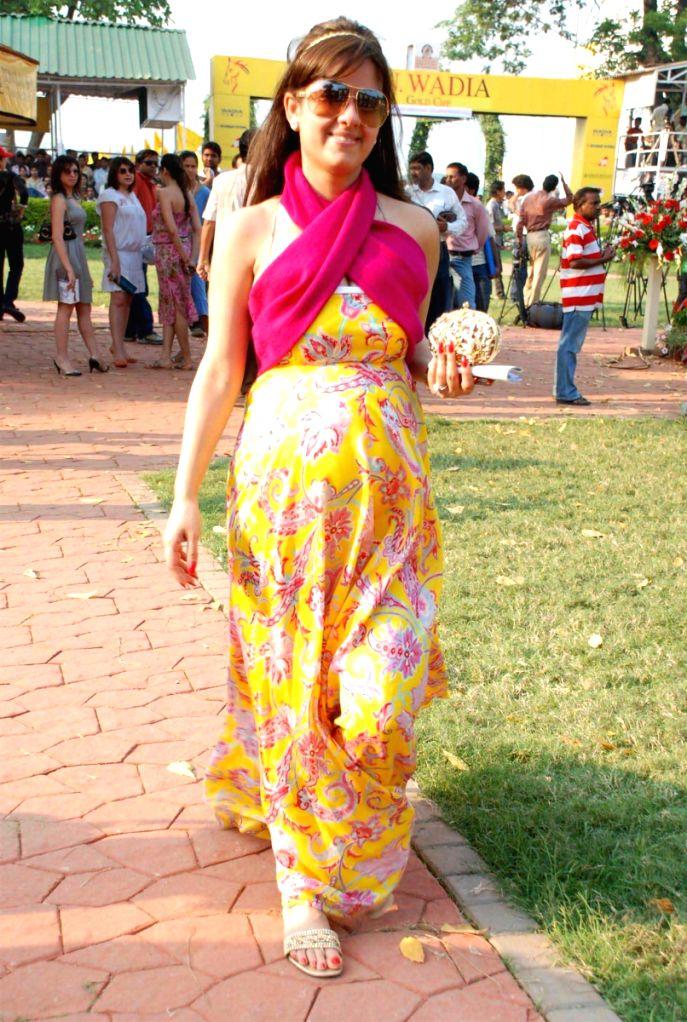 Guest at Gladrags Mega Models event at CN Wadia Cup.