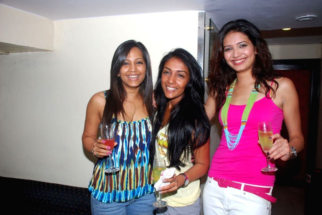 Guests at Kiran Bawa's event.