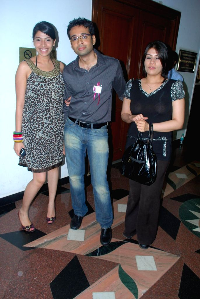 Guests at the BD Somani's fashion show in Mumbai.