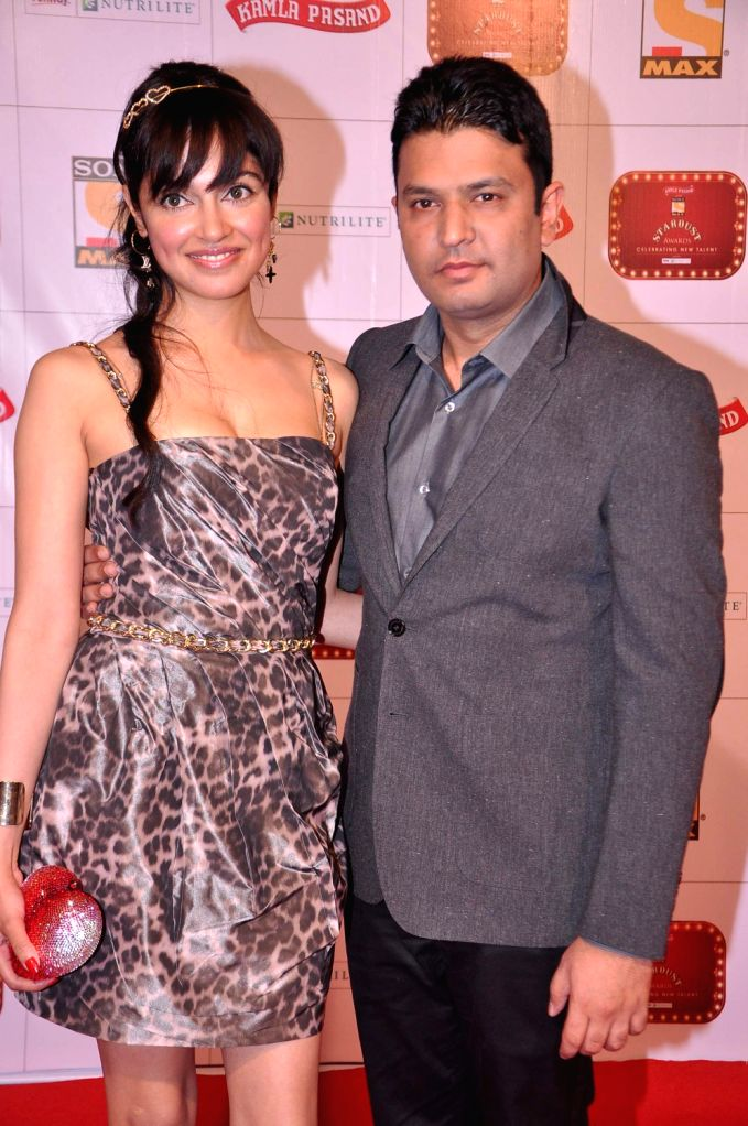 Guests at the red carpet of Stardust Awards at Jan 26 in Mumbai.