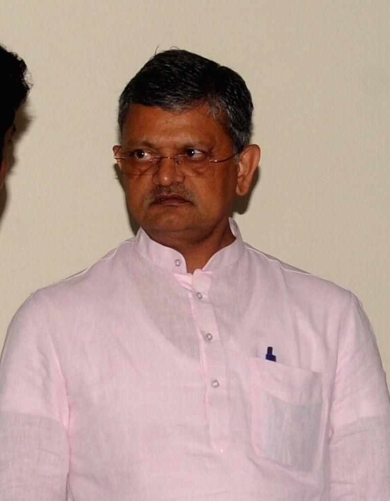 Gujarat BJP General Secretary Bhikhubhai Dalsania. (File Photo: IANS)